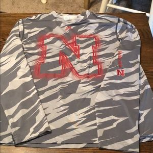 Men's Long Sleeve Nebraska Shirt